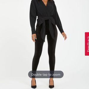 Spanx Velvet Leggings Size XS